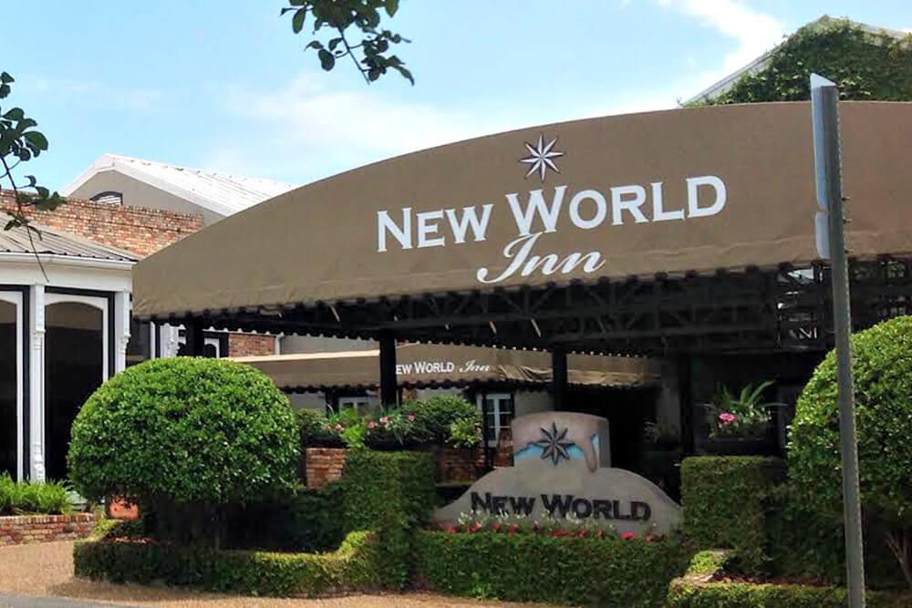 New World Inn Front Awning